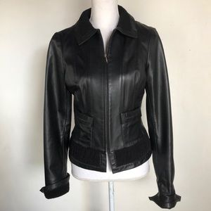 Lillie Rubin leather lamb skin jacket